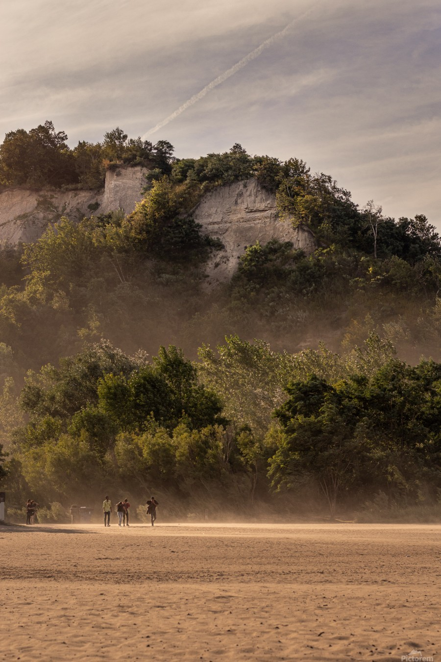 Hot day at the Bluffs  Print