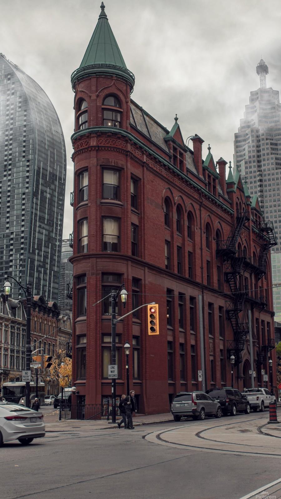 Toronto Gooderham Building  Print