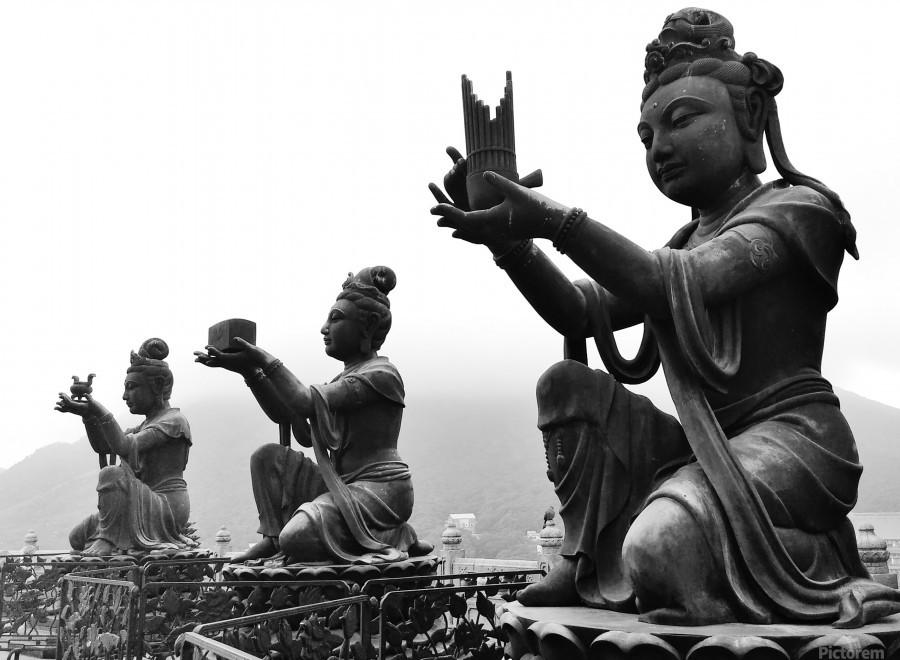 Offer for Buddha  Print