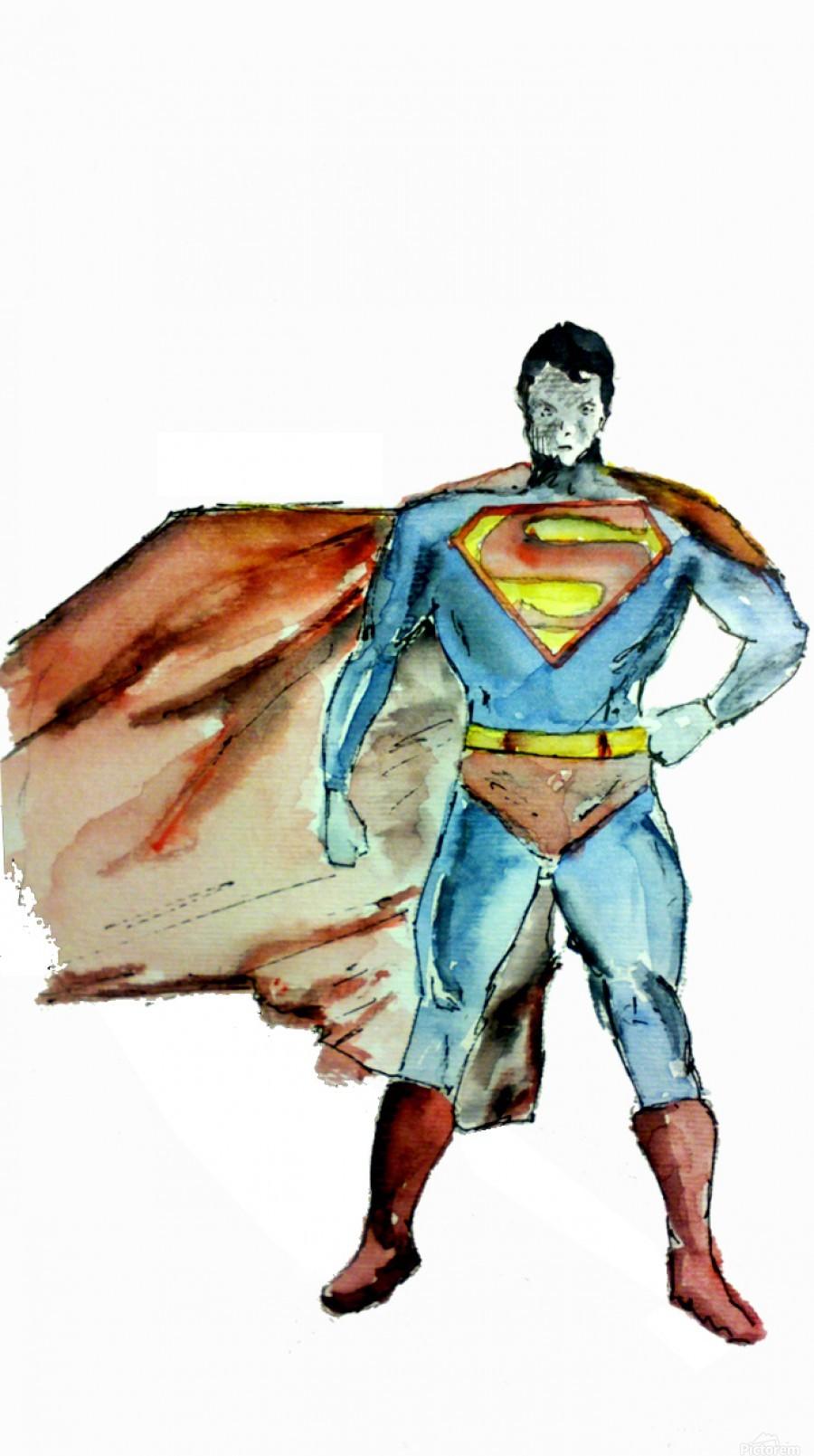 Superman Leyre Toile Artwork