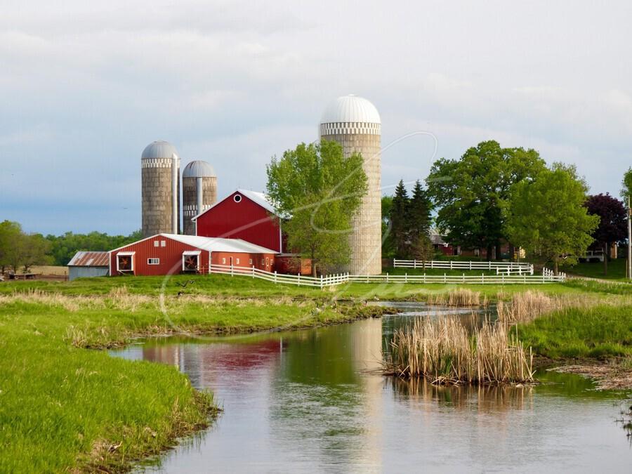 Country Farm  Print