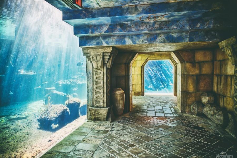 Atlantis Aquarium   Print
