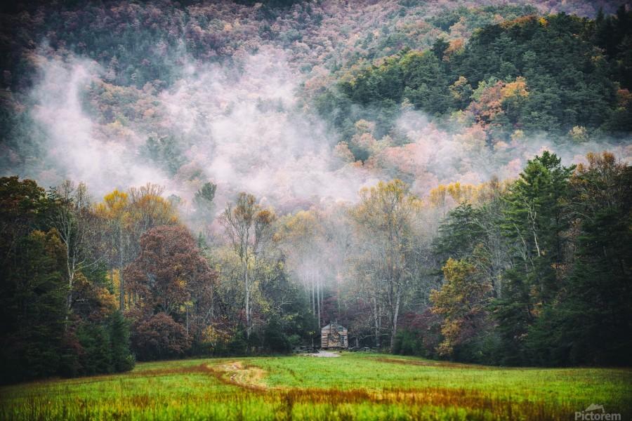 Smokey Mountain   Print