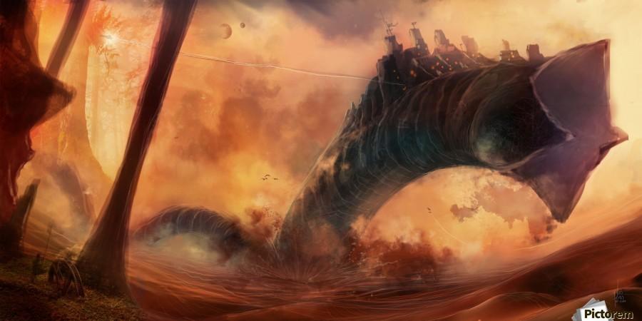 Dune World  Print