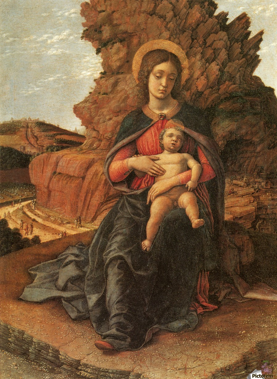 Madonna of the Cave  Print