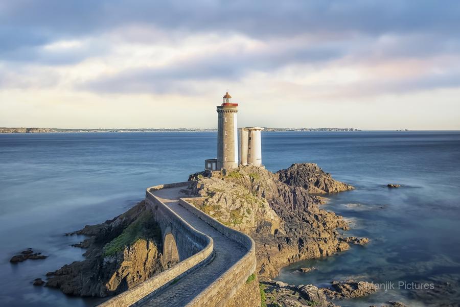 Petit Minou Lighthouse  Print
