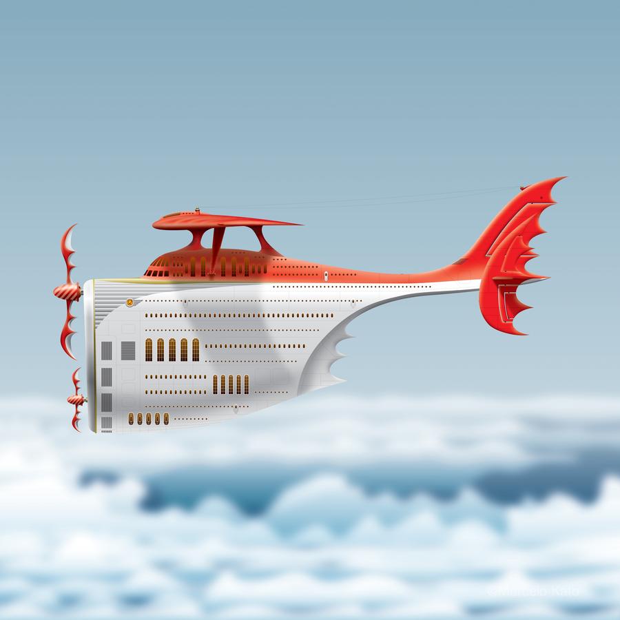 Avione Martellino  Print