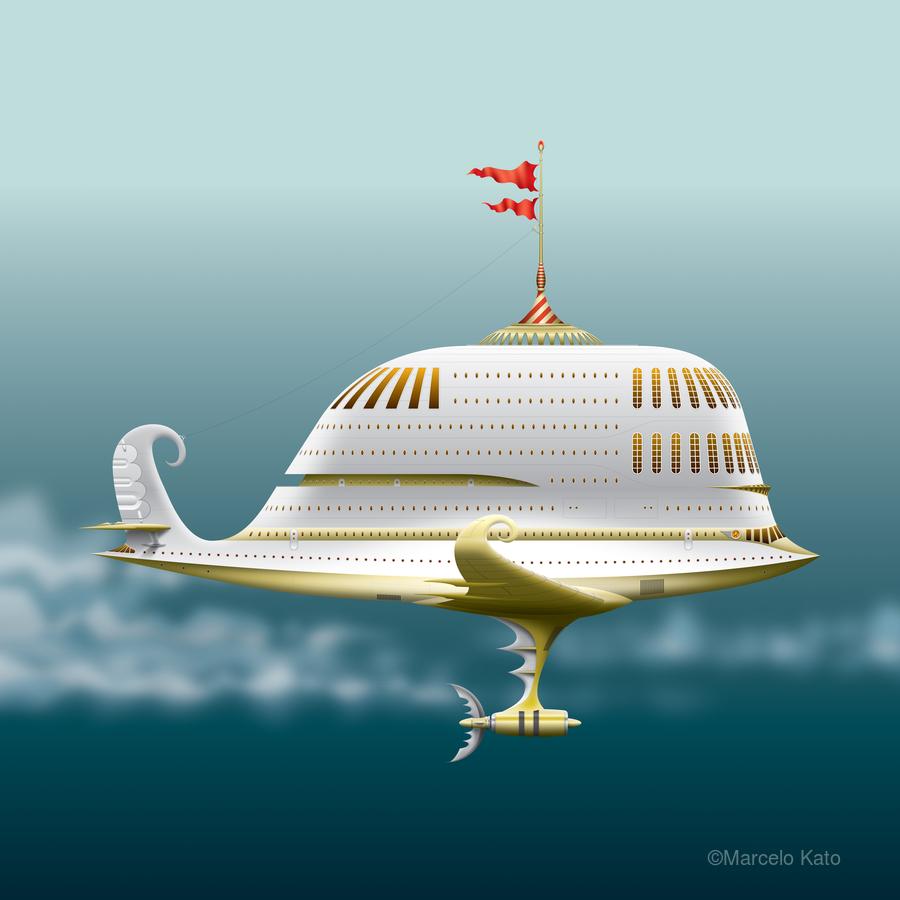 Imbarcazione Volante Dommo  Print