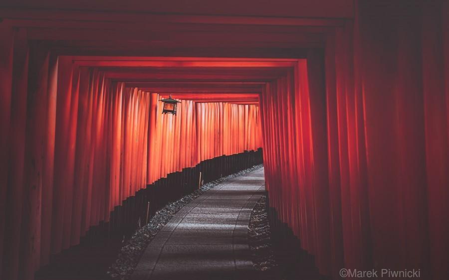 Fushimi red  Print