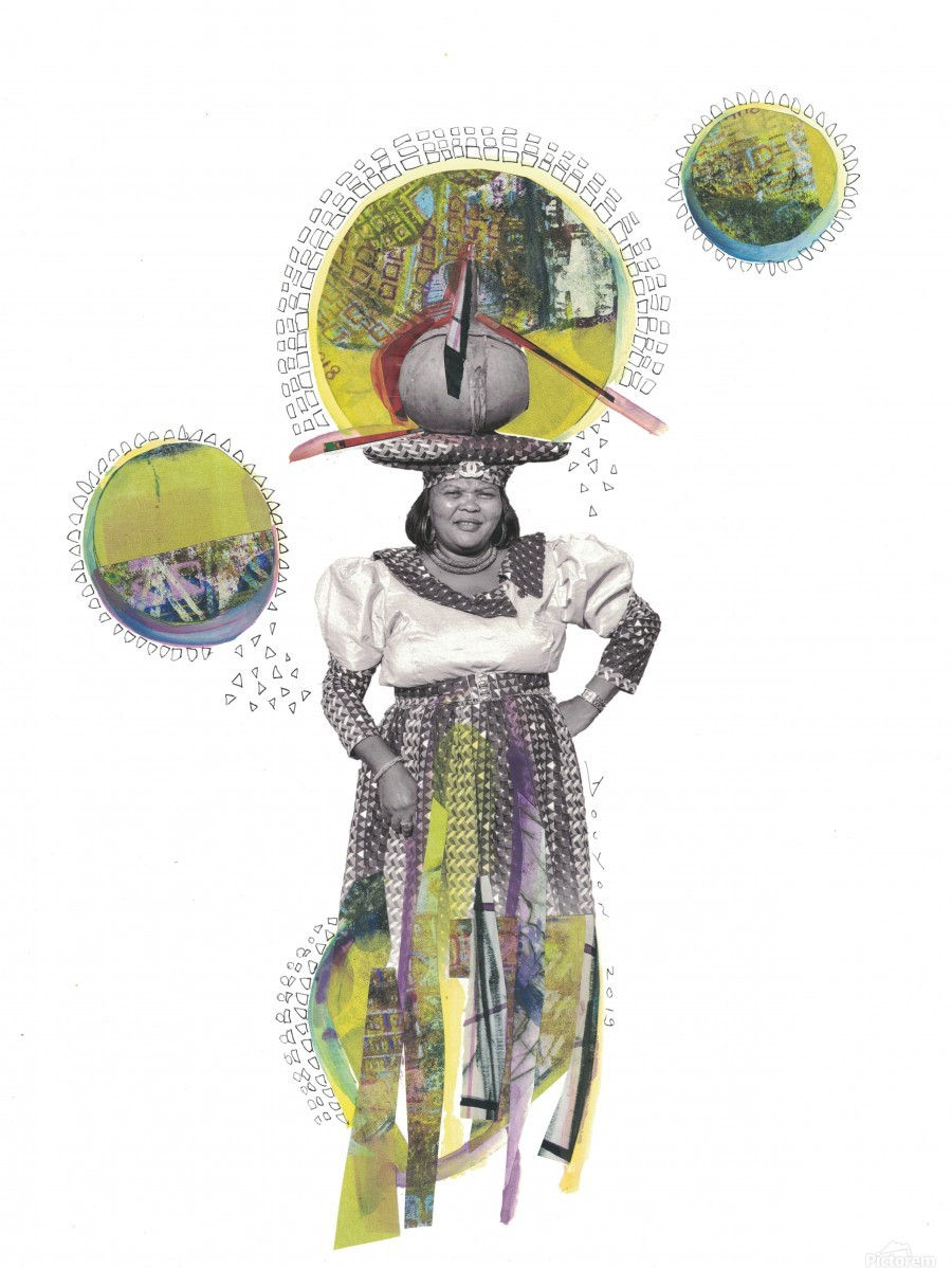 Herero Woman 4  Print