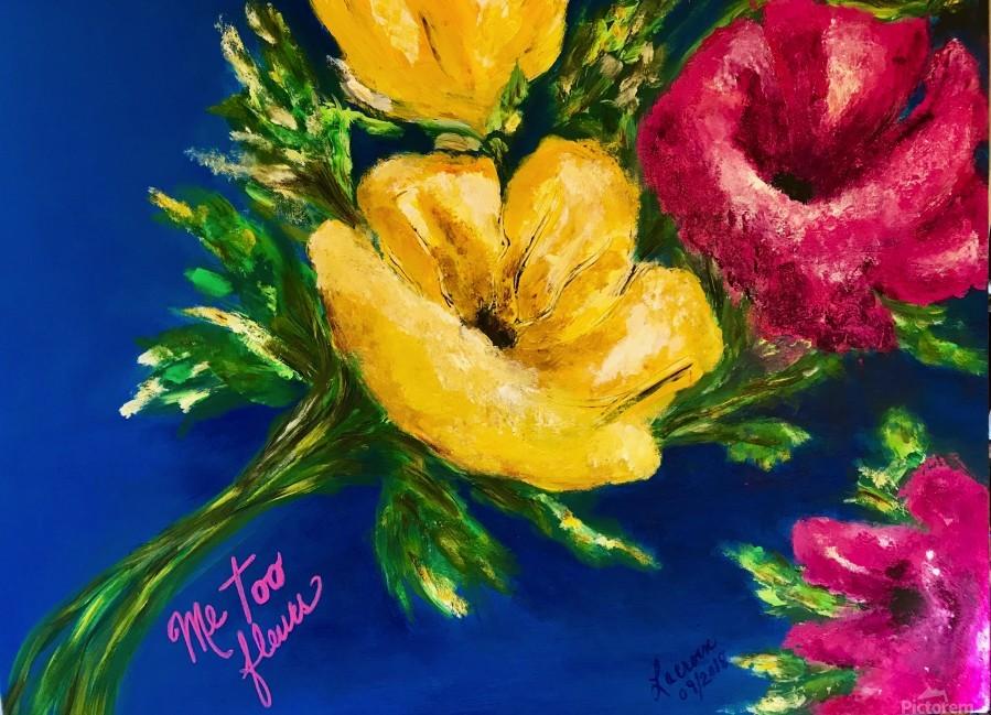 Me Too Fleurs  Print