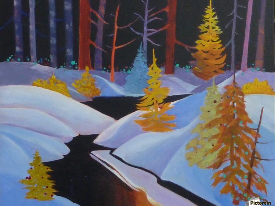 winterwonderland.acrylic  Print