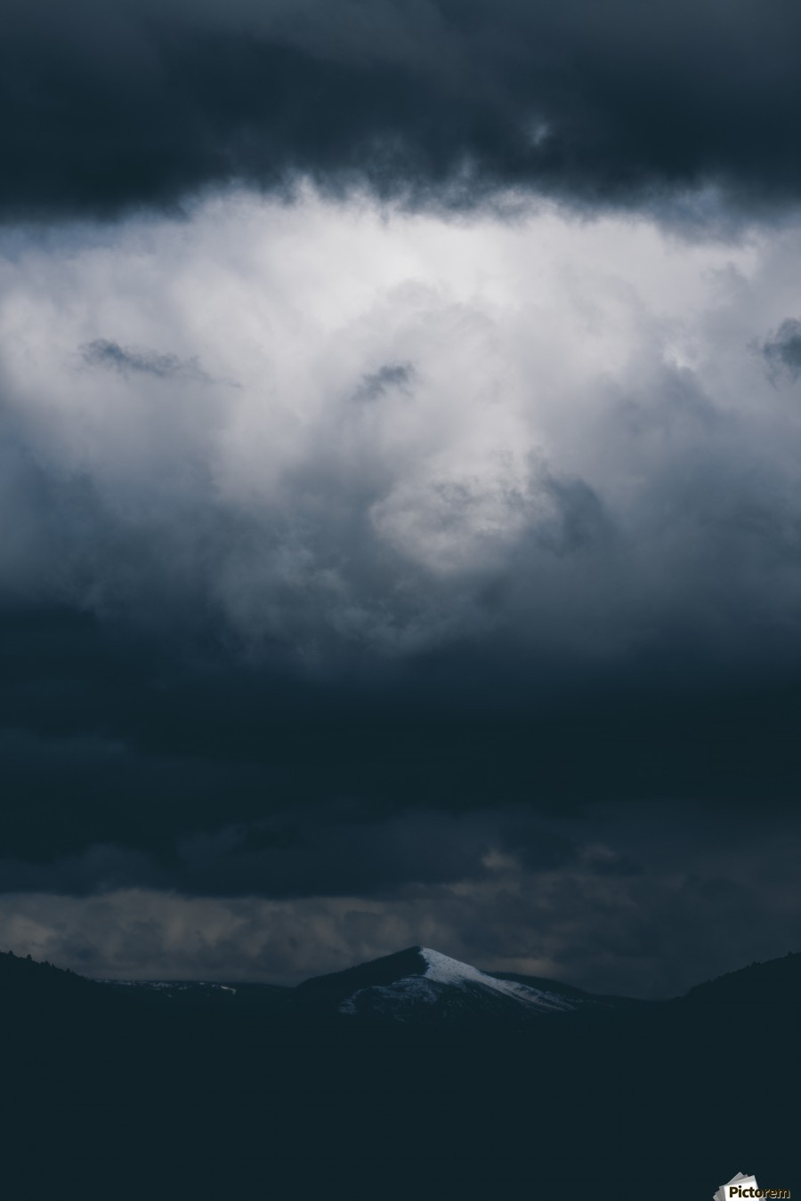 Spark , Marko Radovanovic , mountain, landscape, far_away, cloud, white, dark, contrast, moody, snow, snowy_peak, distance, bellow, above, serbia, kopaonik, wild, little, hunched, hidden, peak, one, battle,