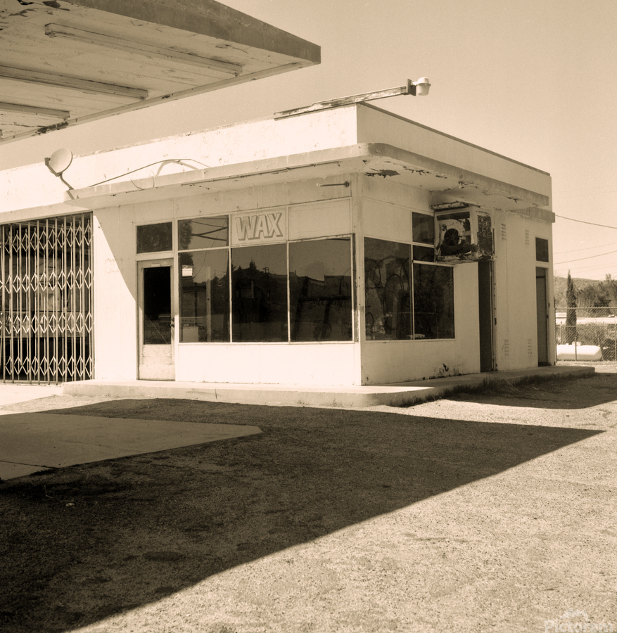 Urban Loneliness - The Gas Station  Print