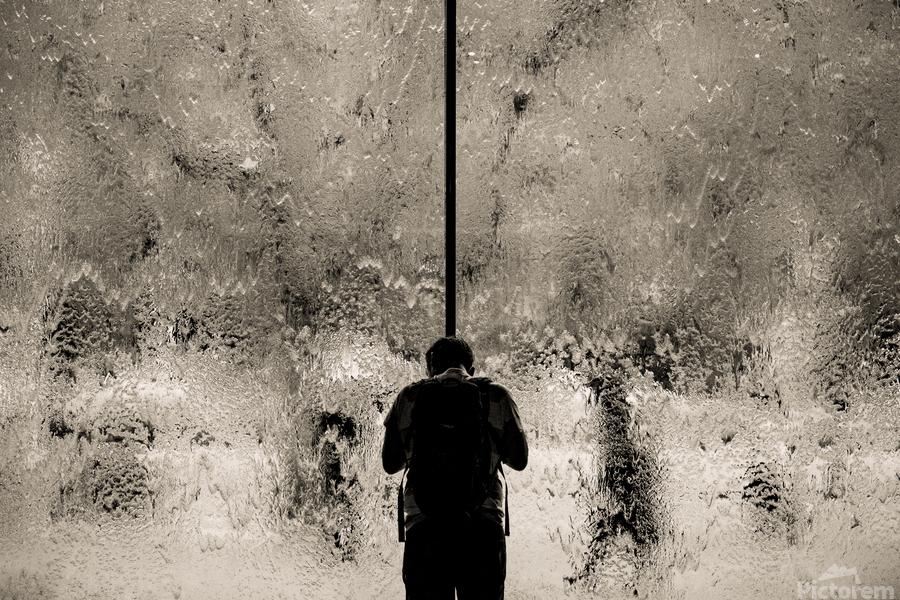 Urban Loneliness - Rain  Print