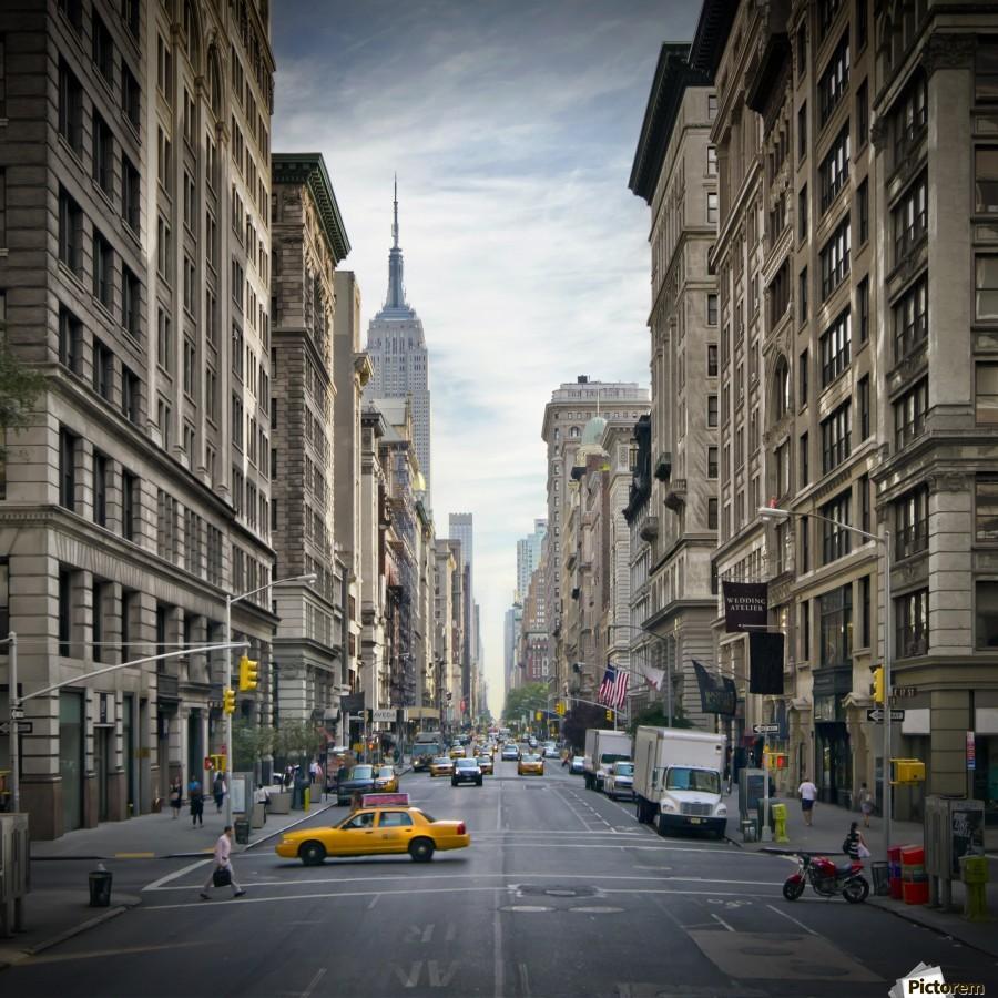 NEW YORK CITY 5th Avenue    Print