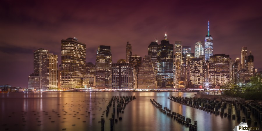 NEW YORK CITY Nightly Impressions | Panoramic