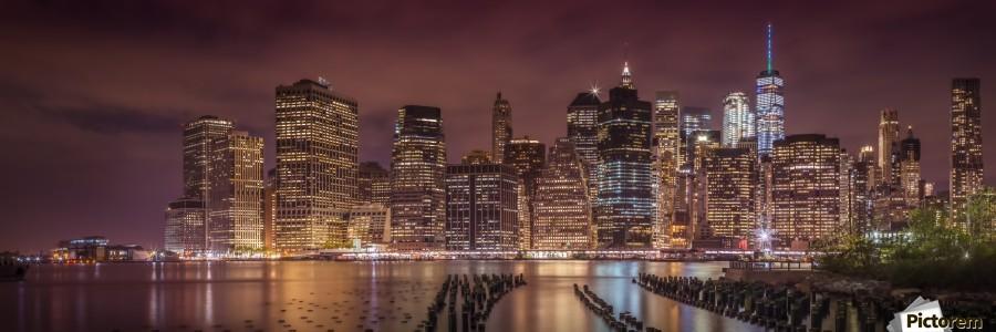 NEW YORK CITY Nightly Impressions | Panoramic View