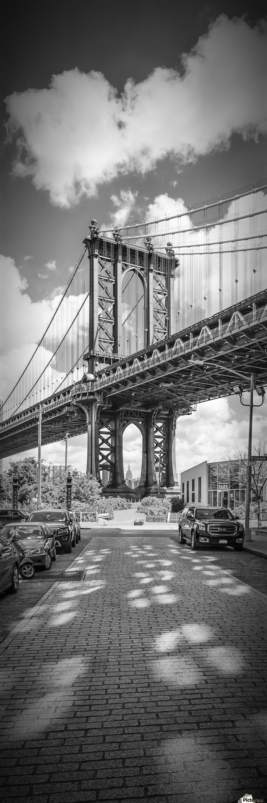 NEW YORK CITY Manhattan Bridge | Upright Panorama
