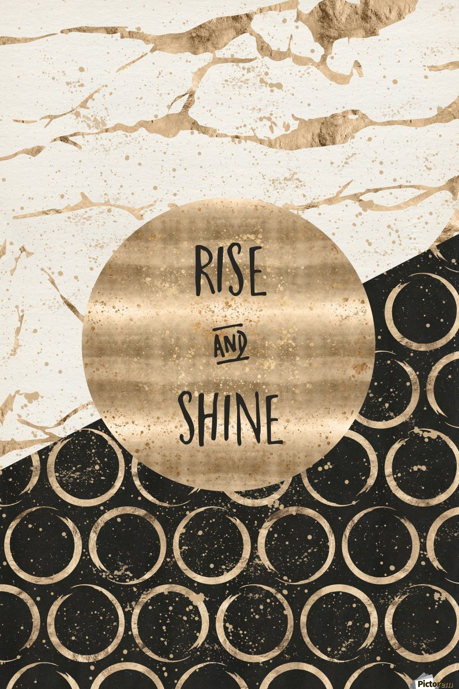 GRAPHIC ART Rise and shine  Print