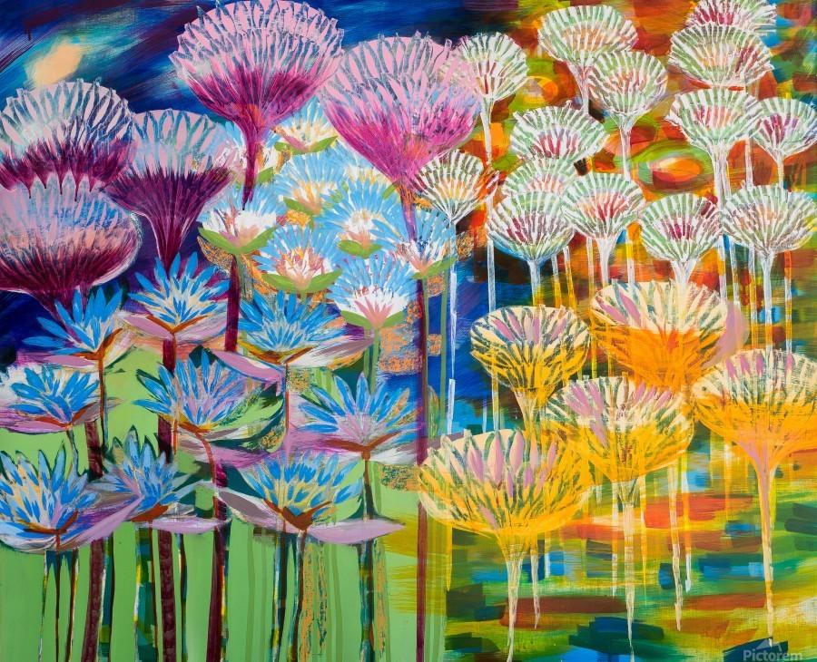 Levity Blooms  Print