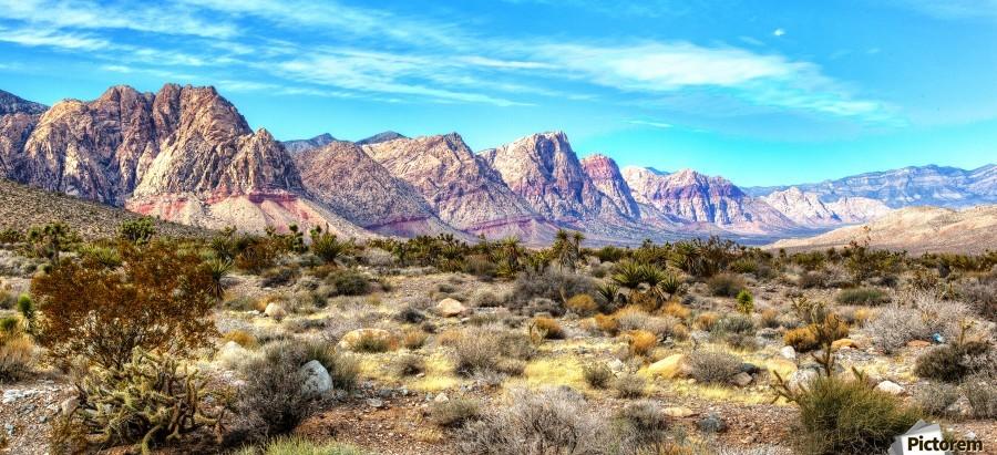 Red Rock Canyon  Print