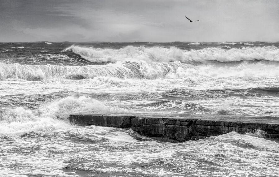 Stormy Seas  Print
