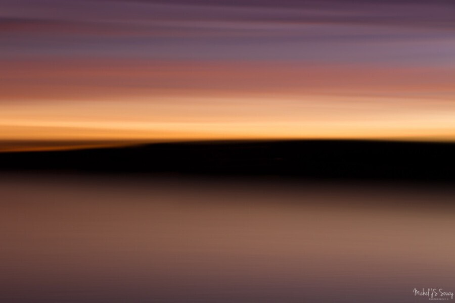 Sunset Motion  Print