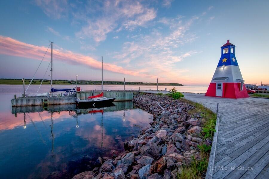 Acadian Skies  Print