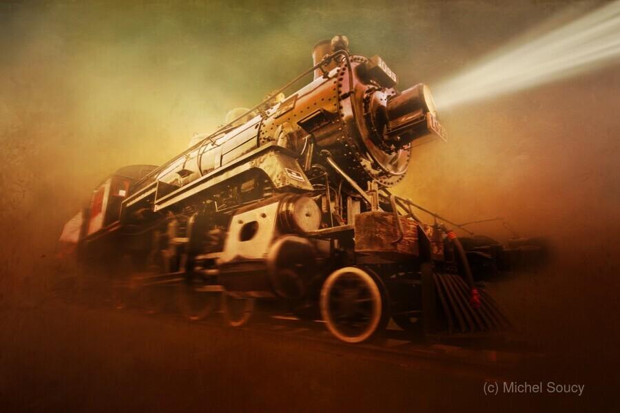 Engine 1095  Print