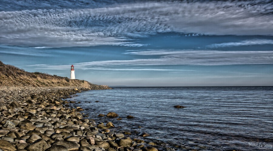 Low Point Lighthouse - Nova Scotia  Print