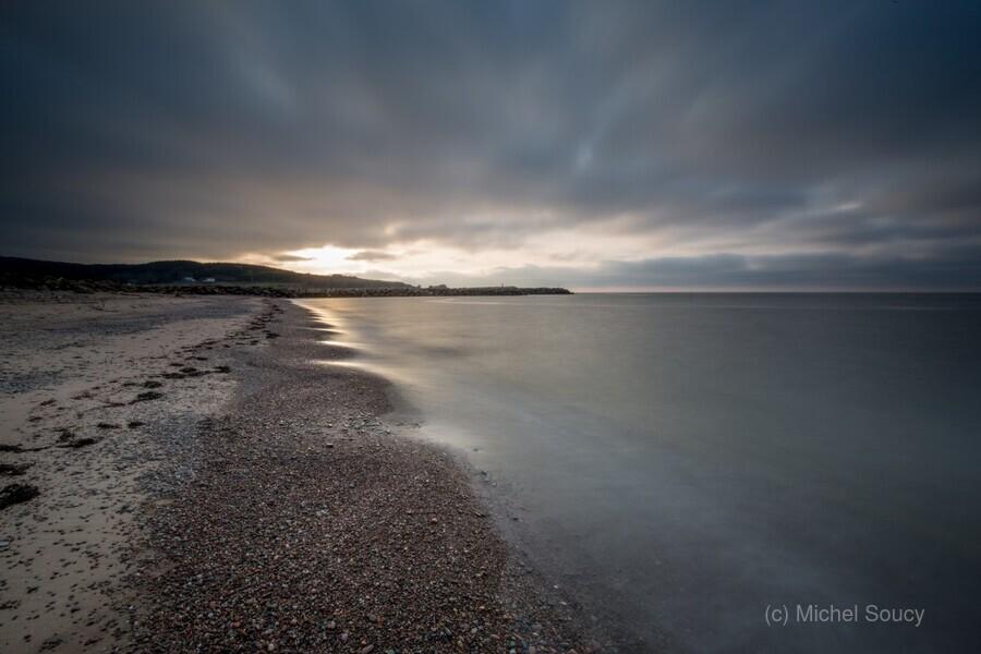 Belle Cote Beach at Sunset  Print