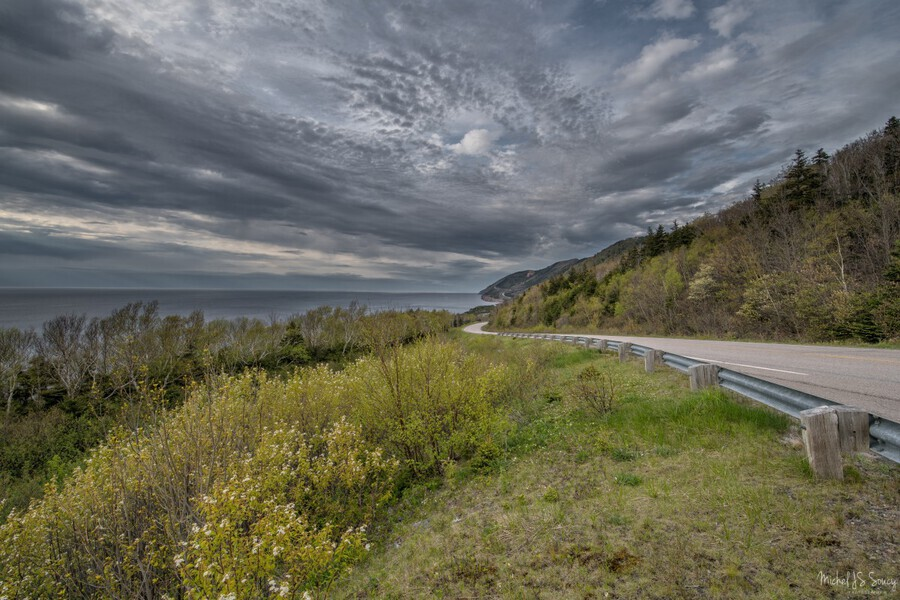 Springtime on the Cabot Trail  Print