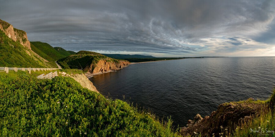 Cabot Trail View towards Cheticamp  Print