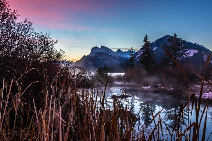Vermilion Lakes Mist  Print