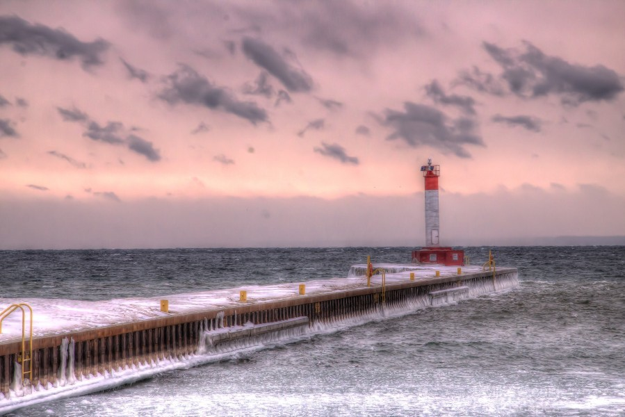 Lighthouse Oakville Pier IMG_3643_4_5 copy  Print