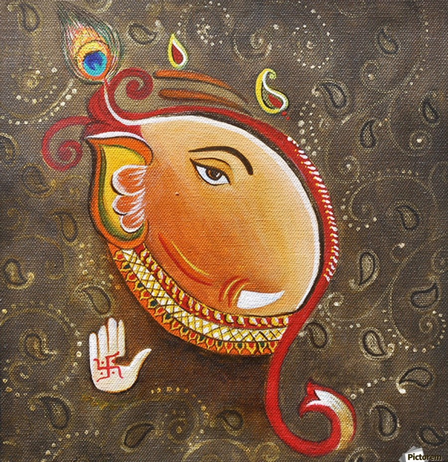 Ganesha the Great God  Print