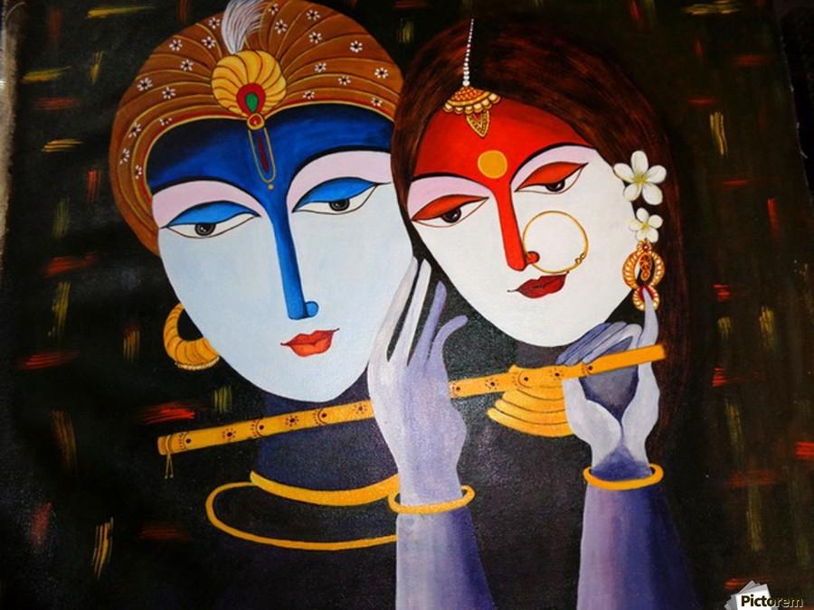 Krishna And Radha True Love Mrs Neeraj Parswal