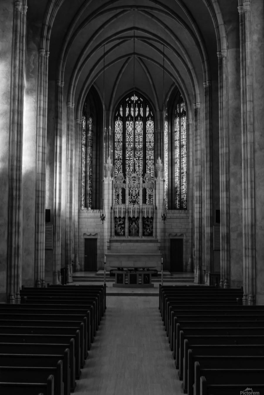 Trinity College Chapel  Print