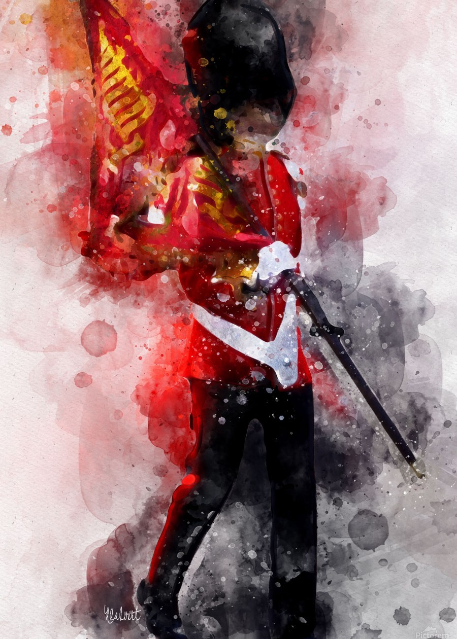 The Queens Guard  Print