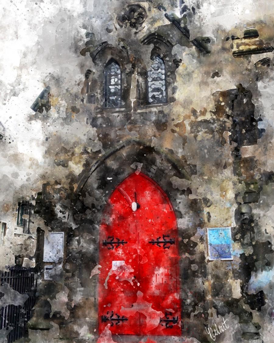 Red Door Edinburgh  Print