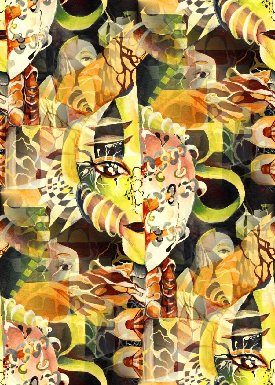 Pop Currealism Magical Utopia  Print