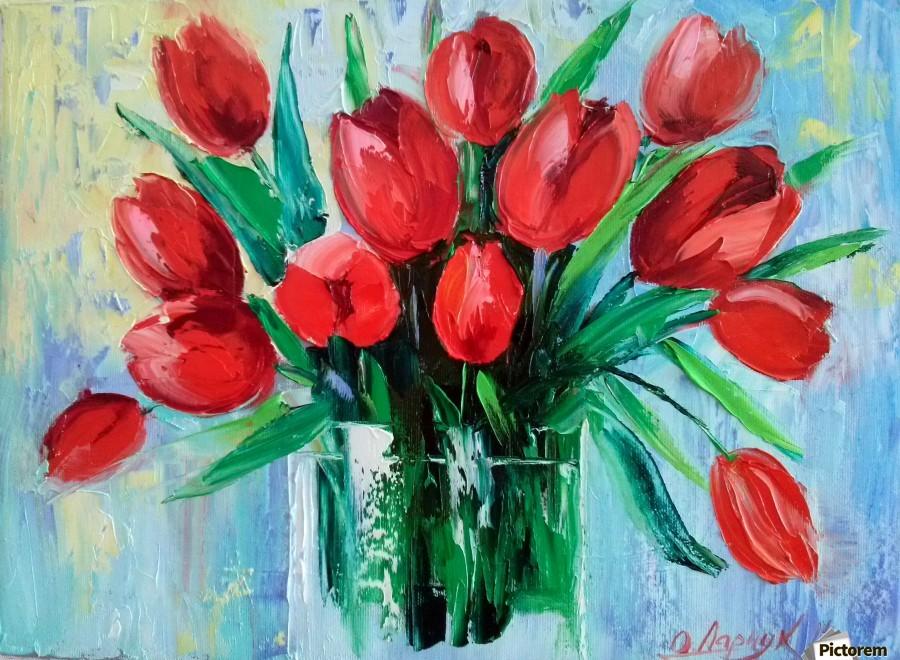 Тюльпаны  Print