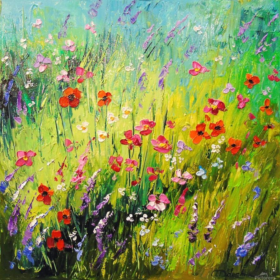 Meadow flowers  Print