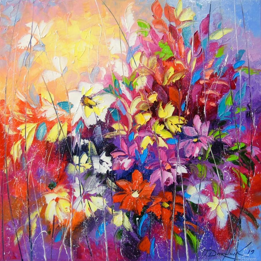 Dance of flowers  Print