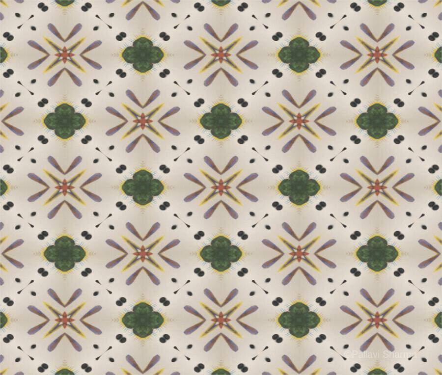 Greenflower  Print