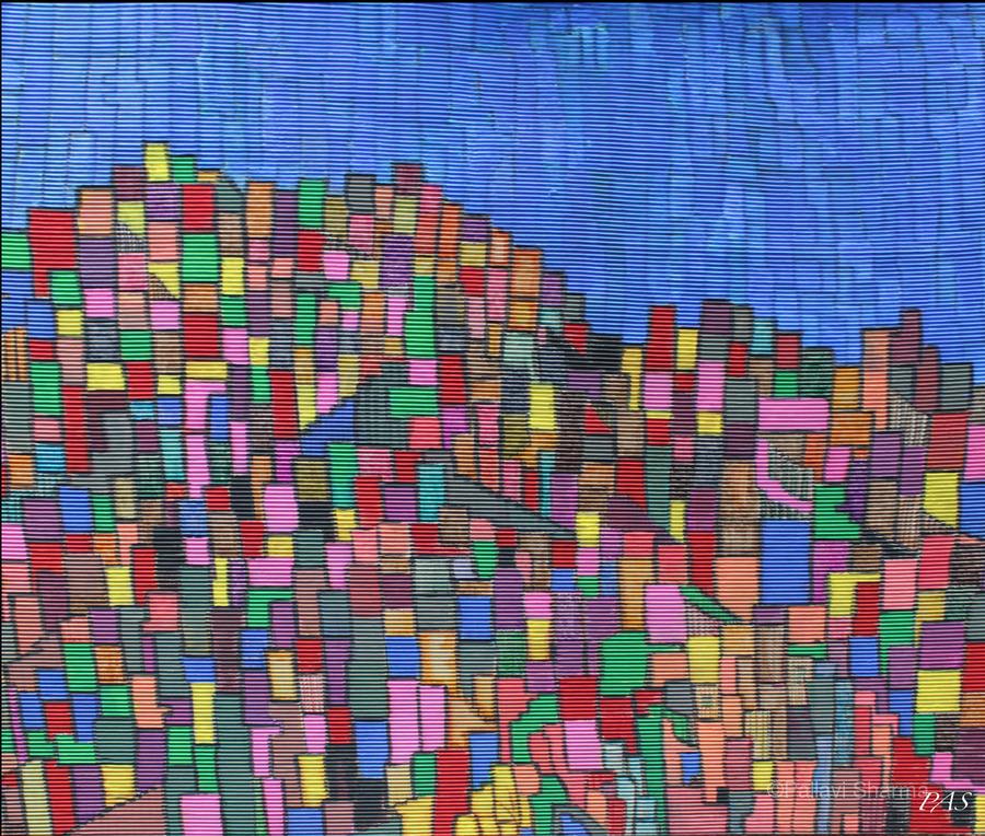 colorfulbuildings  Print