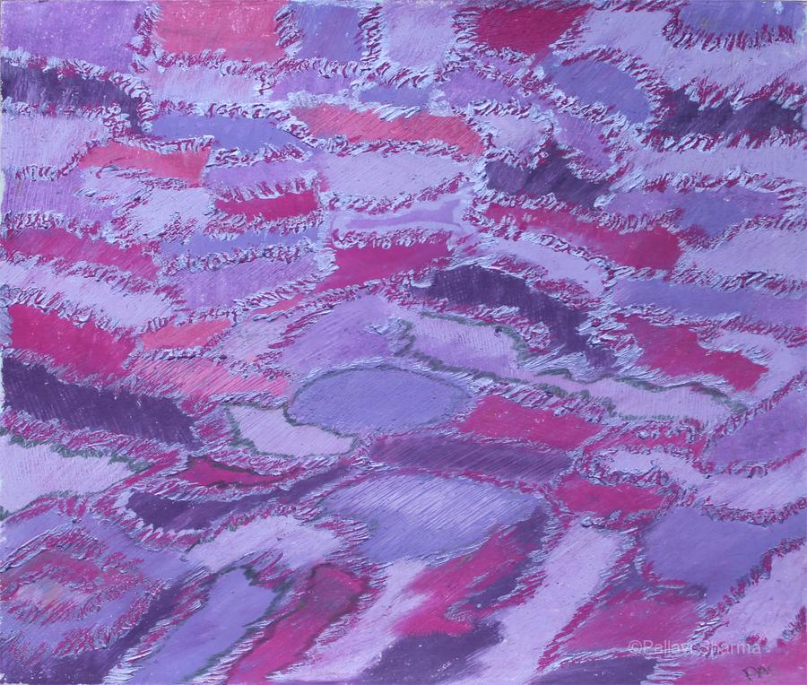 shades of purple  Print