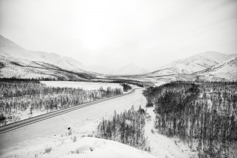 Kolyma Highway in Yakutia  Print