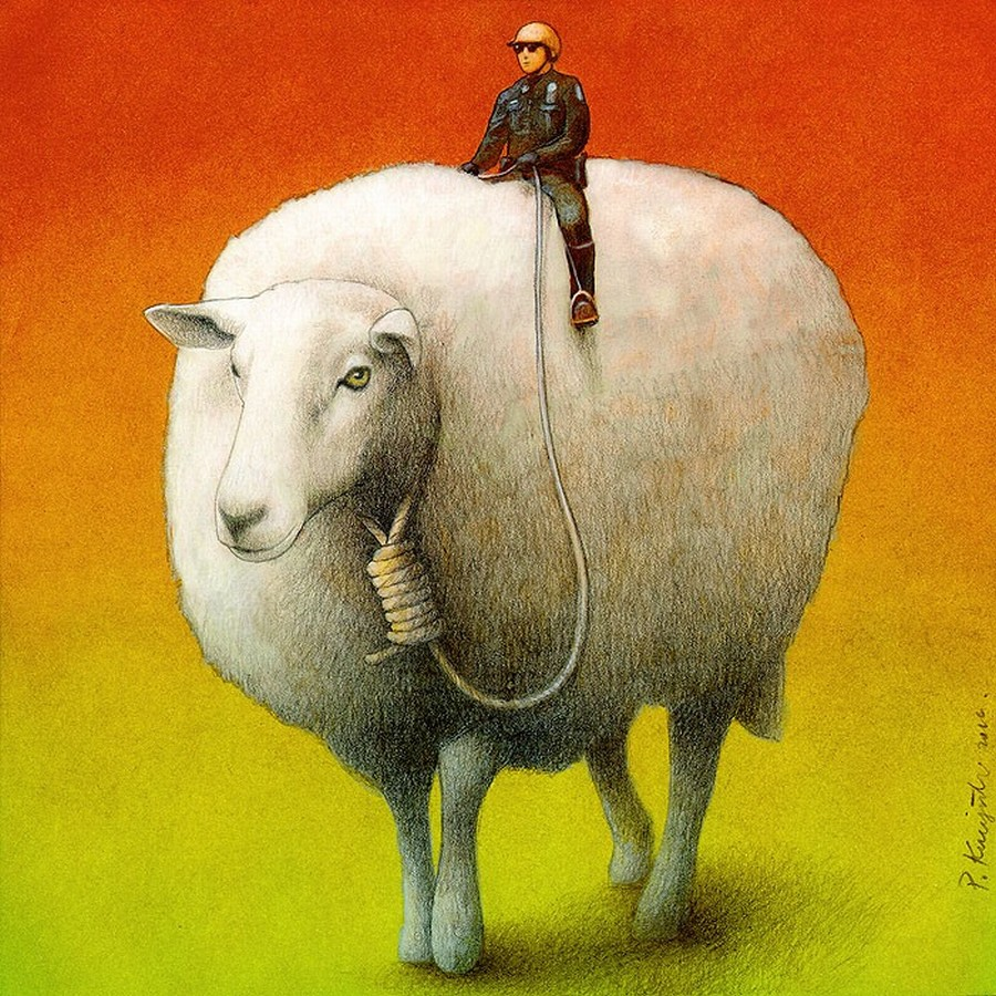 Sheep Control  Imprimer